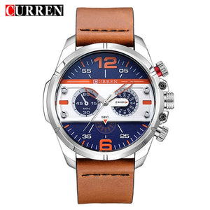 NEW! CURREN 8259 Casual Watch