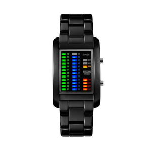 Digital Luxury Alloy Watch
