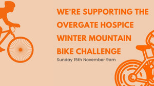 Happy Days Cycles pedals in to support Overgate Winter Mountain Bike Challenge