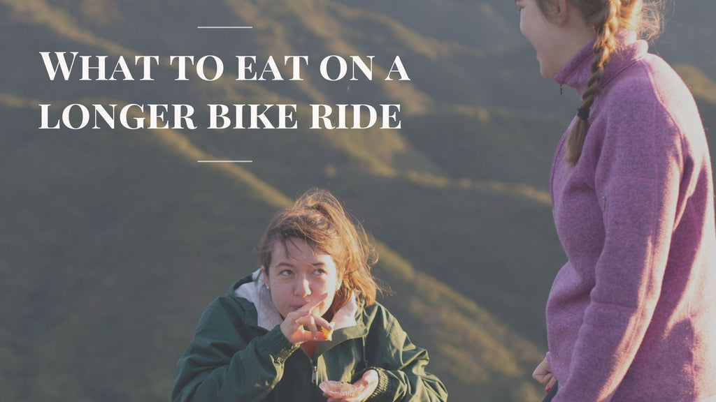 What To Eat During Longer Bike Rides