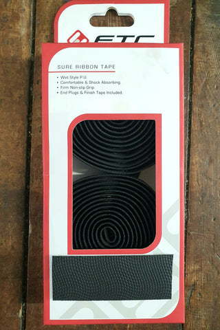 ETC Carbon Look Handlebar Tape Black - Happy Days Cycles