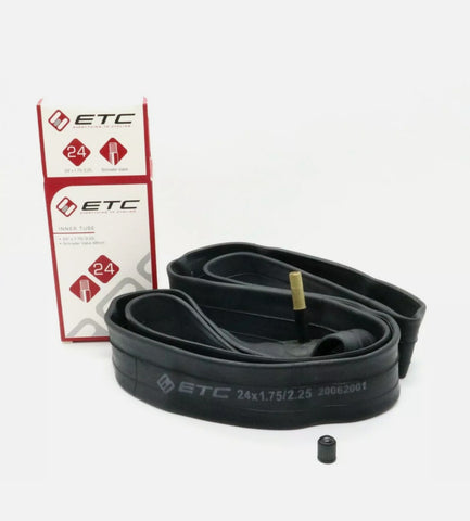 ETC Inner Tube 24 X 1.75-2.25 Schrader - Happy Days Cycles