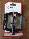 ETC Alloy MTB Platform Pedals - Happy Days Cycles