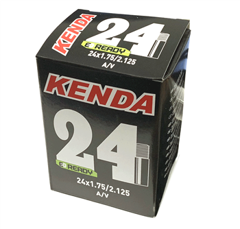 "Kenda 24"" x 1.75-2.125 Inner Tube - Schrader Valve - Happy Days Cycles"