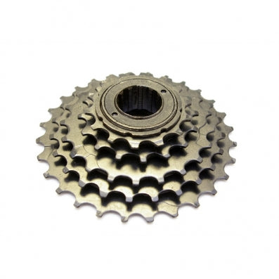Sunrace 5 Speed, 14-28T Freewheel Black and Zinc - Happy Days Cycles