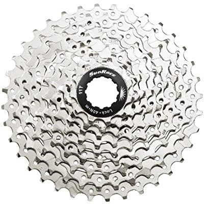 SunRace CSM98 9 Speed 11-36T Nickel - Happy Days Cycles