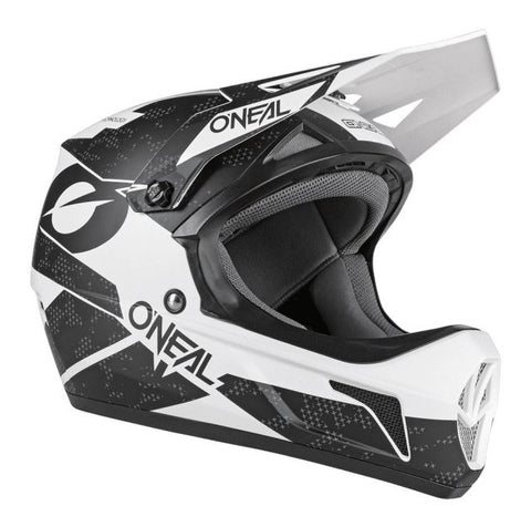O'Neal Sonus Helmet Deft Black/White Happy Days Cycles