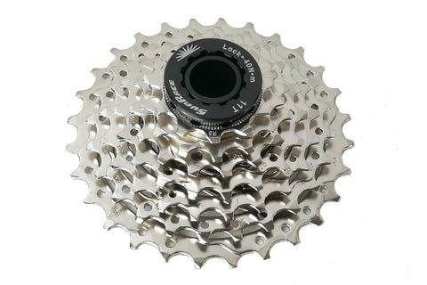 Sunrace 7 Speed Cassette, 11-28T, Nickel - Happy Days Cycles