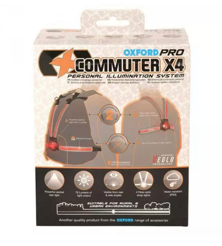 The Oxford Commuter X4 Persinal Illumination System - Happy Days Cycles