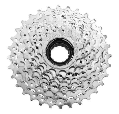 Sunrace 8 speed, freewheel 13-32T, Chrome - Happy Days Cycles
