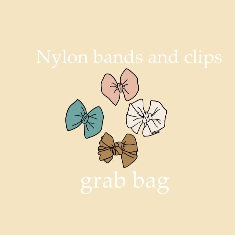 Nylon bands/ Clips Grab Bag