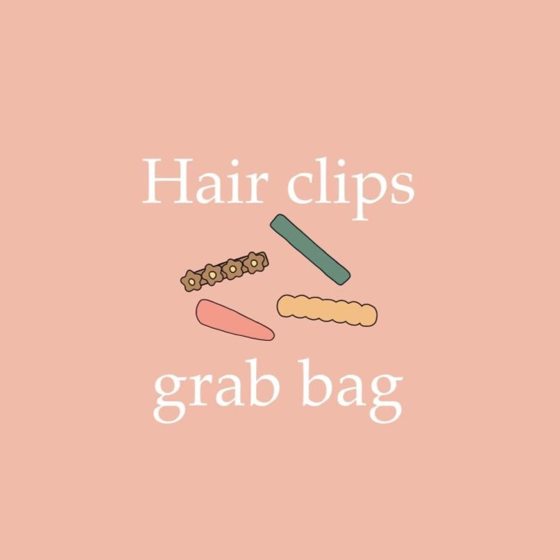 Hair Clips Grab Bag