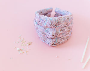 Birthday Babe Knotted Headband