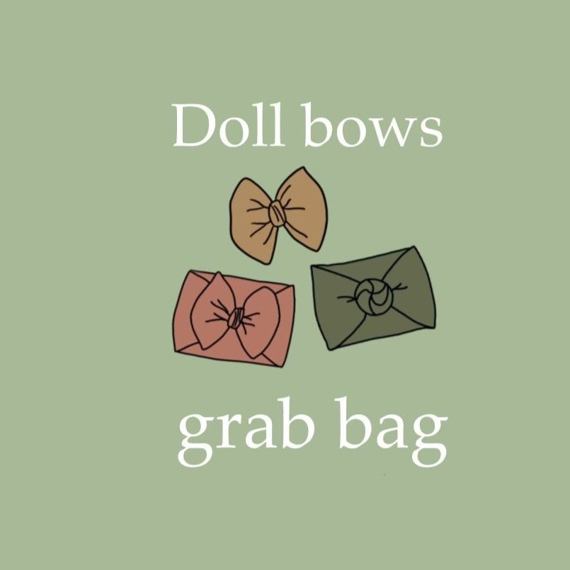Doll Bows Grab Bag