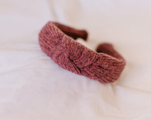 Berry Knotted Headband