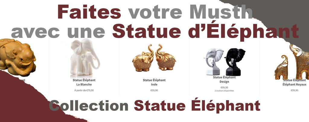 collection de statue éléphant