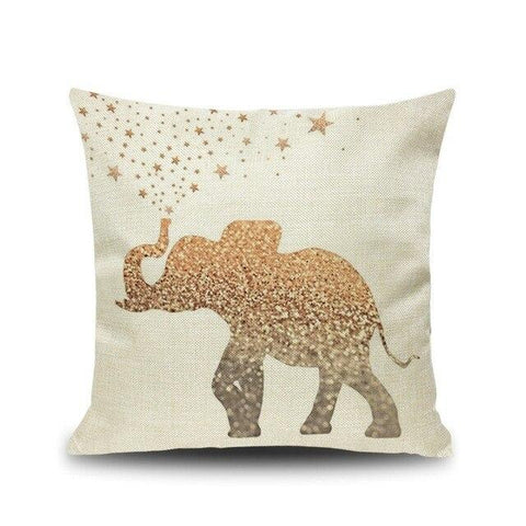 coussin decoration elephant
