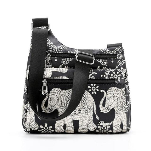 sac a main motif elephant