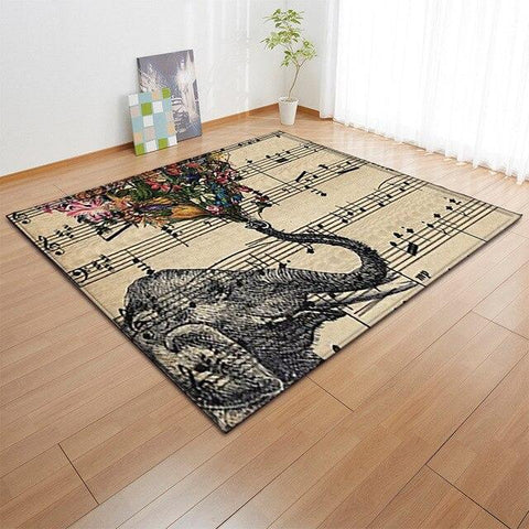tapis chambre animaux