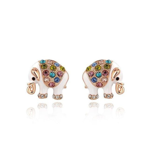 Boucle d'Oreille Animaux rose