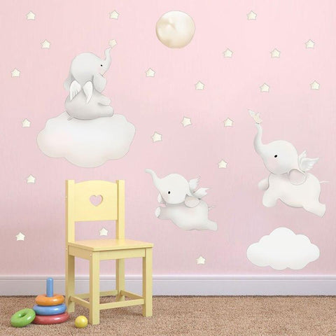 Stickers Animaux Chambre Fille