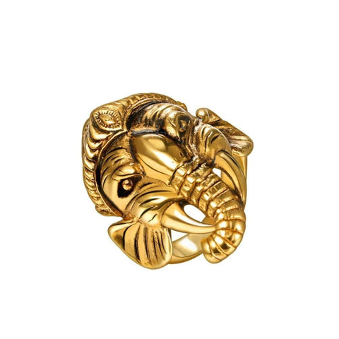 bague ganesh or
