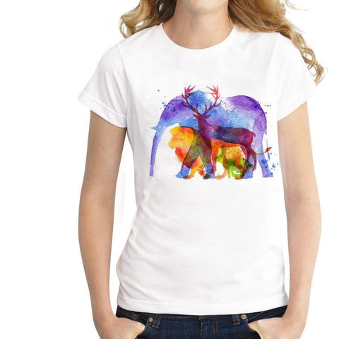t shirt animaux
