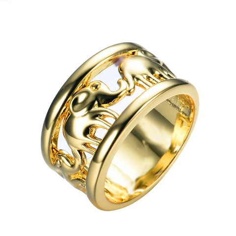 bague elephant or
