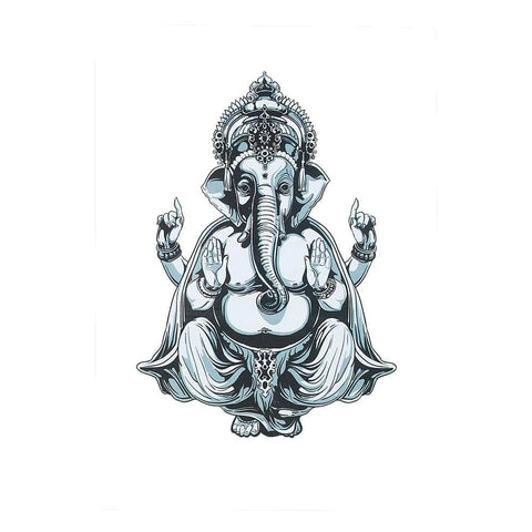 tatouage ephemere ganesh