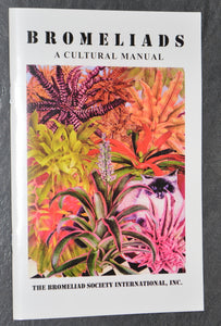 Bromeliads A Cultural Manual - Andy's Air Plants
