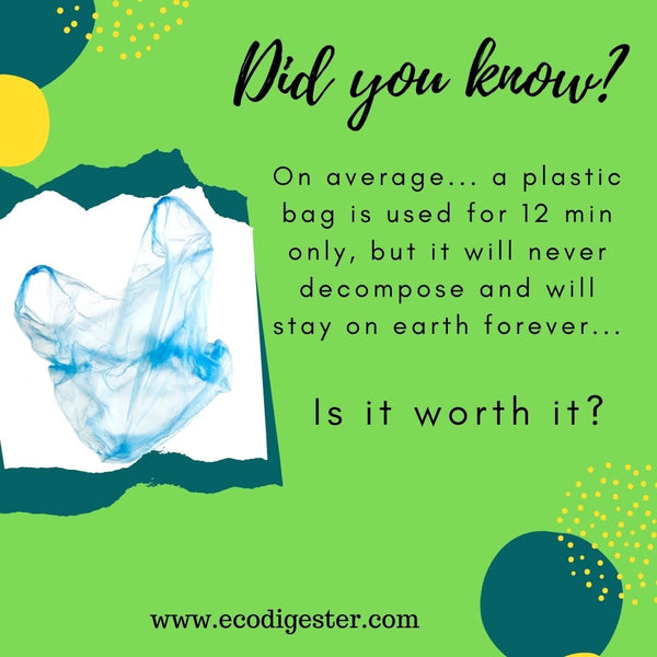 It's Time! Choose Reusable!