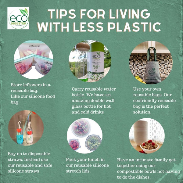 Tips For Living Less Plastic