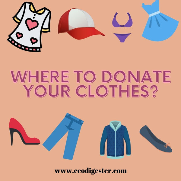 Where To Donate Your Clothes?