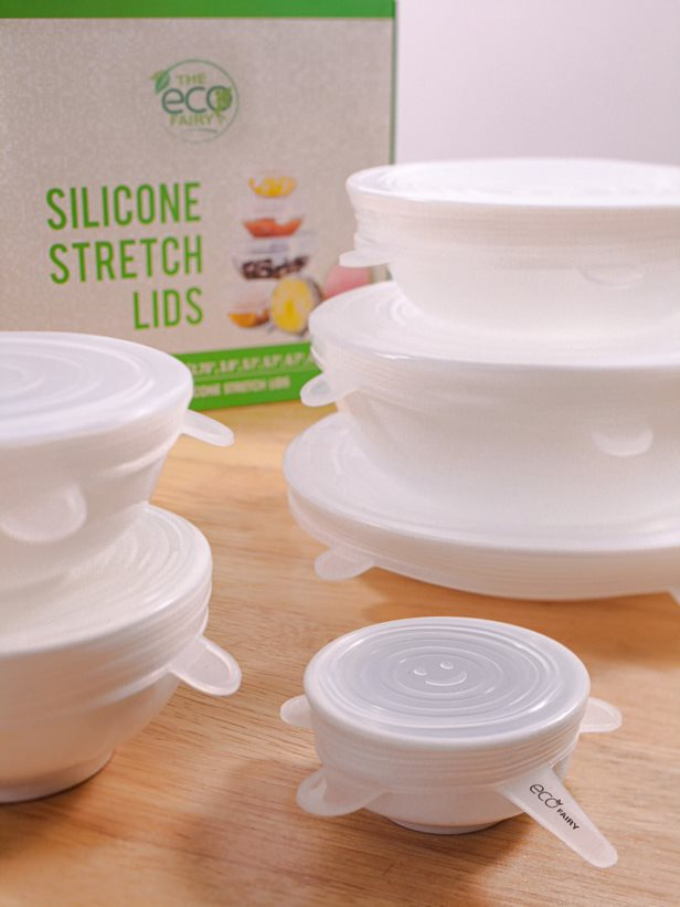 Reusable Silicone Stretch Lids (6 pack)