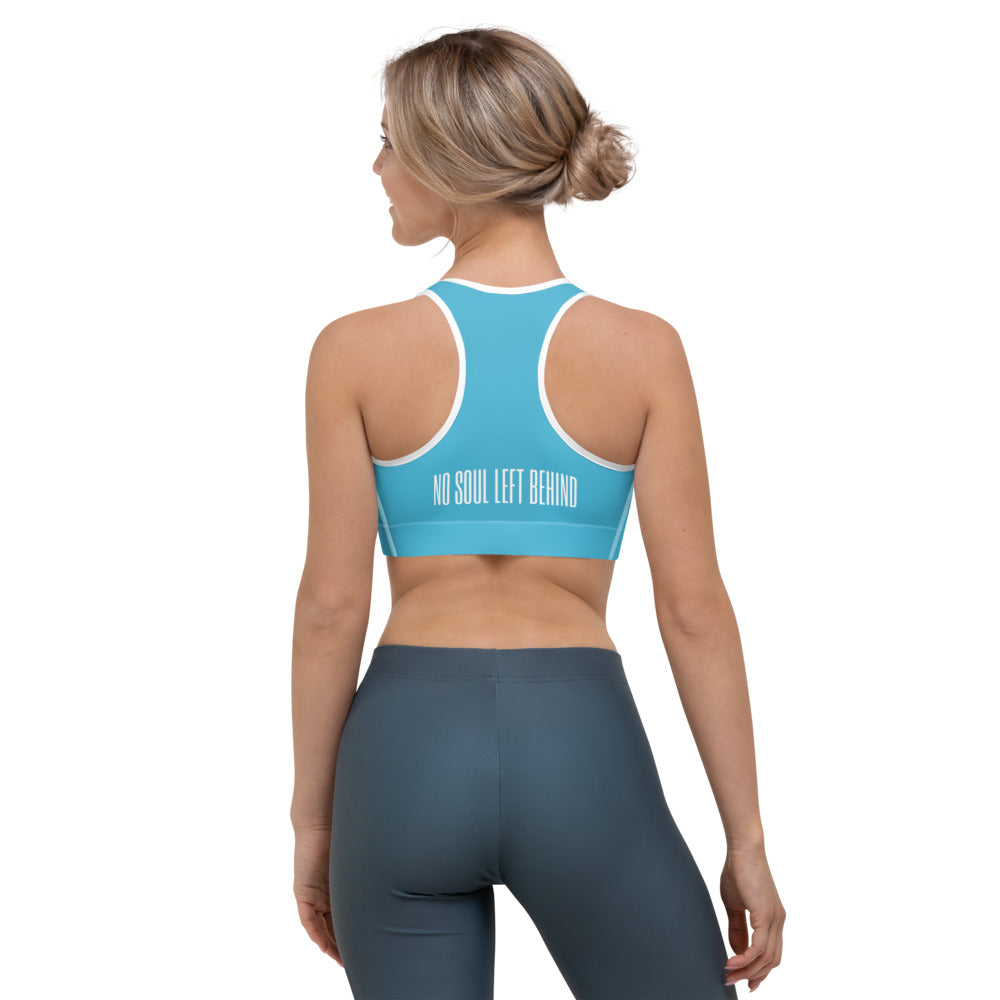 No Soul Left Behind Sports bra