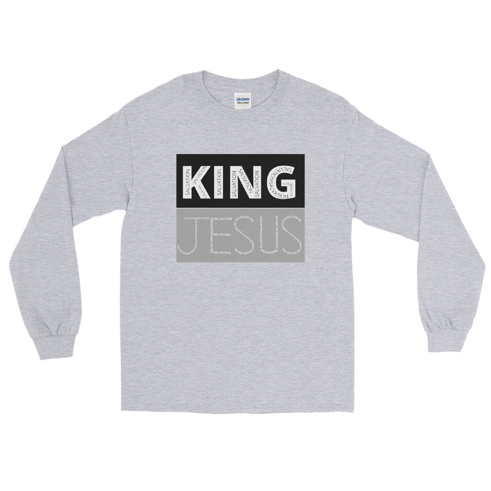 King Jesus Long Sleeve Shirt
