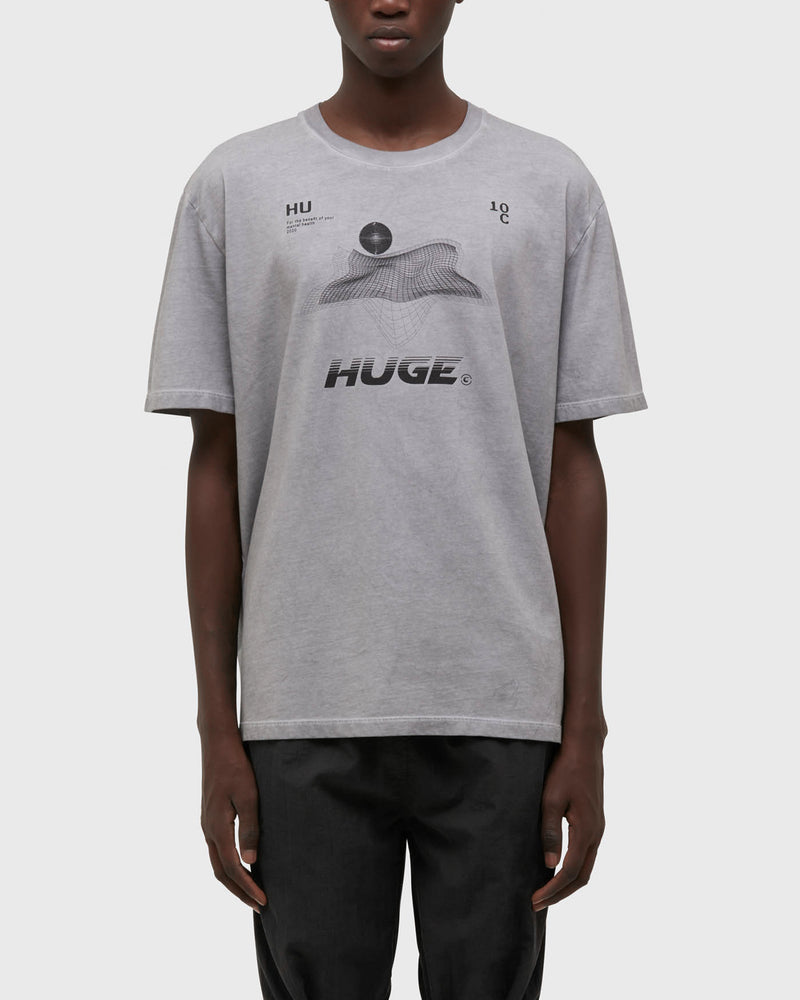 HG-TSHM43-S7S<BR>SPOTTED GREY TEE