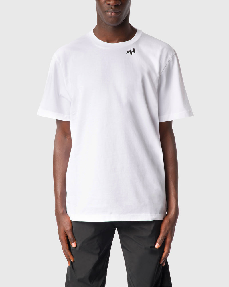 WHITE LOGO T-SHIRT