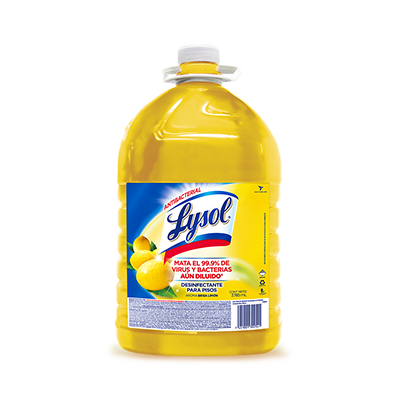 Desinfectante para pisos Lysol Floor Citrus 3785ml.