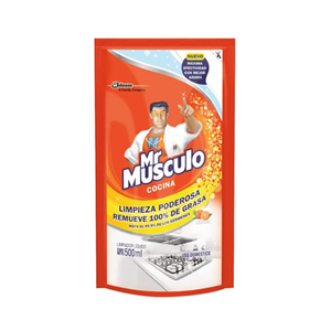 Quitagrasa Mr Musculo - Doypack 500ml.