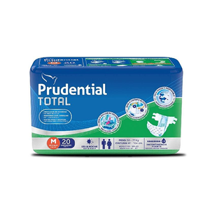 Pañal Prudential Total Talla M - 22 unid.