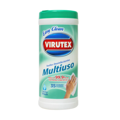 Virutex Wipes x 35 unid. - Aroma Fresh