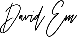 Signature for David Em.