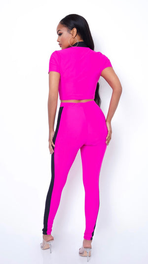 DAWNIA TWO PIECE PANTS SET