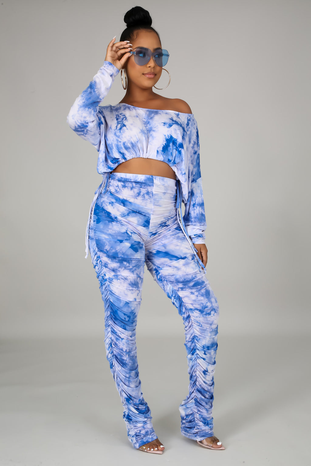 CAN'T GET OVER ME TIE DYE SET