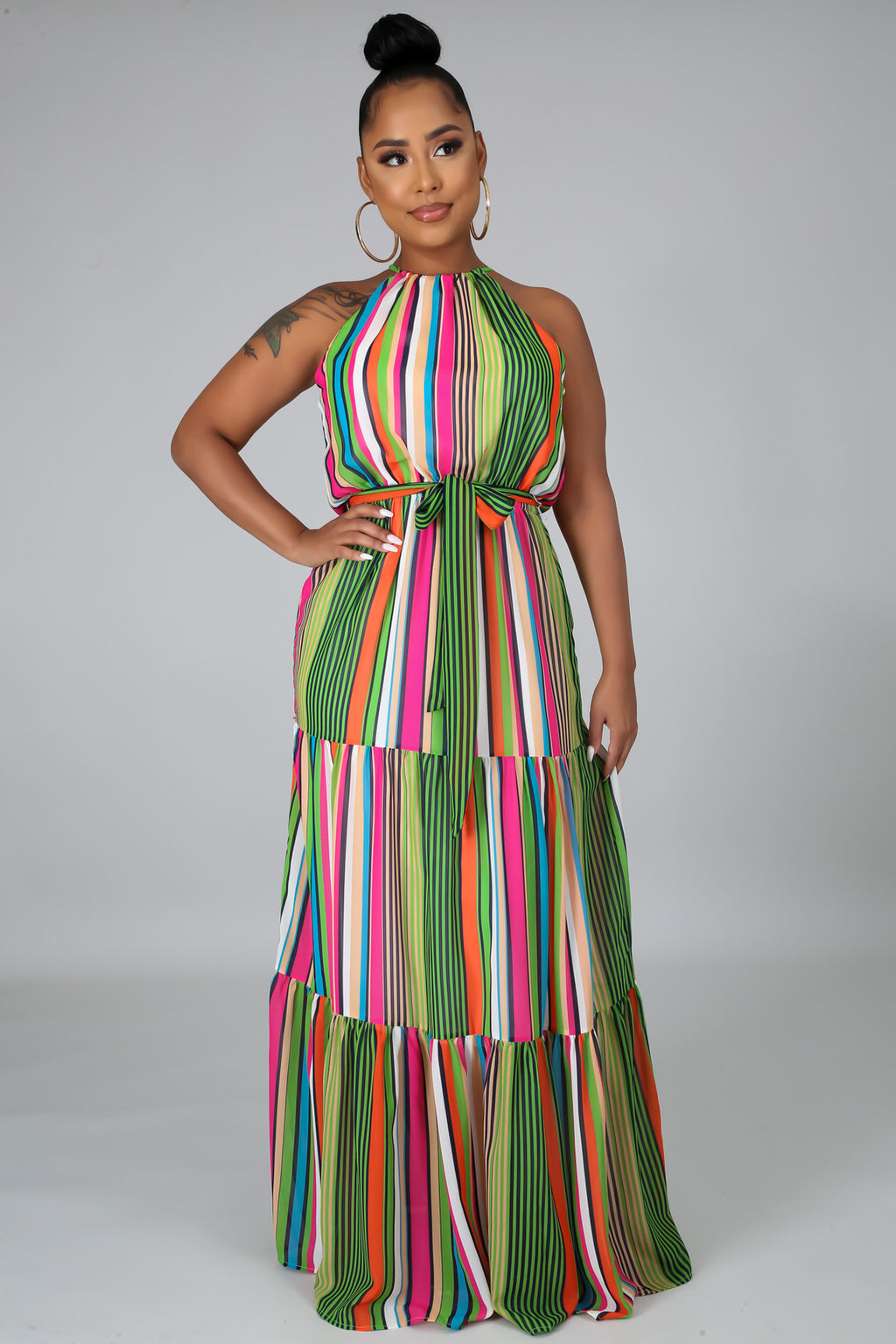 SWEET AFTERNOONS MAXI DRESS