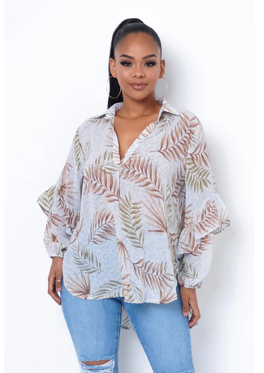 SPRING INTO SUMMER OVERSIZED SHIRT