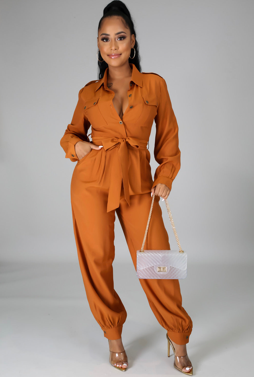 NICE FOR WHAT JUMPSUIT