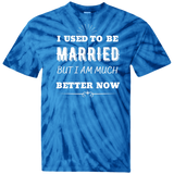 I Used To Be Married 100% Cotton Tie Dye T-Shirt