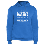 I Used To Be Married Core Fleece Pullover Hoodie